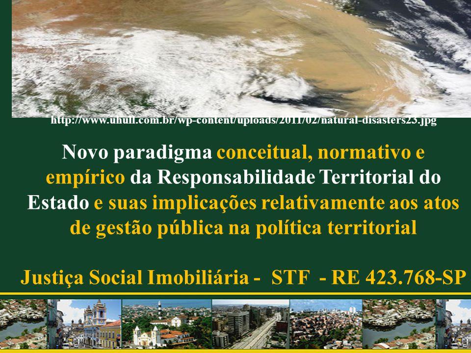 Justiça Social Imobiliária - STF - RE 423.768-SP
