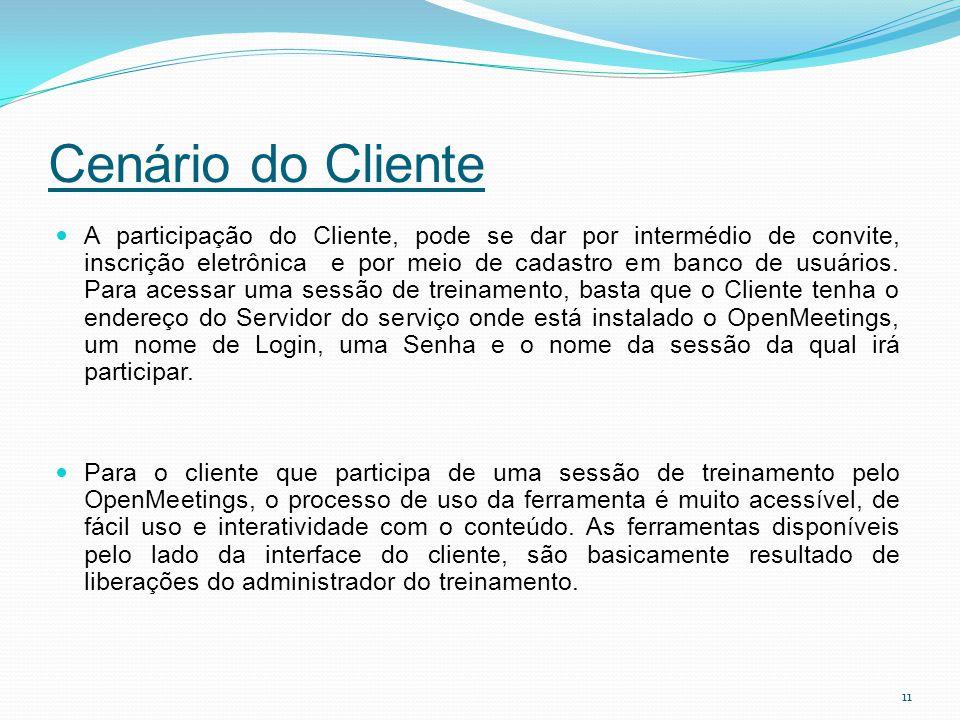 Cenário do Cliente
