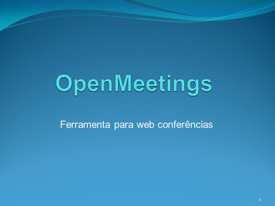Ferramenta para web conferências