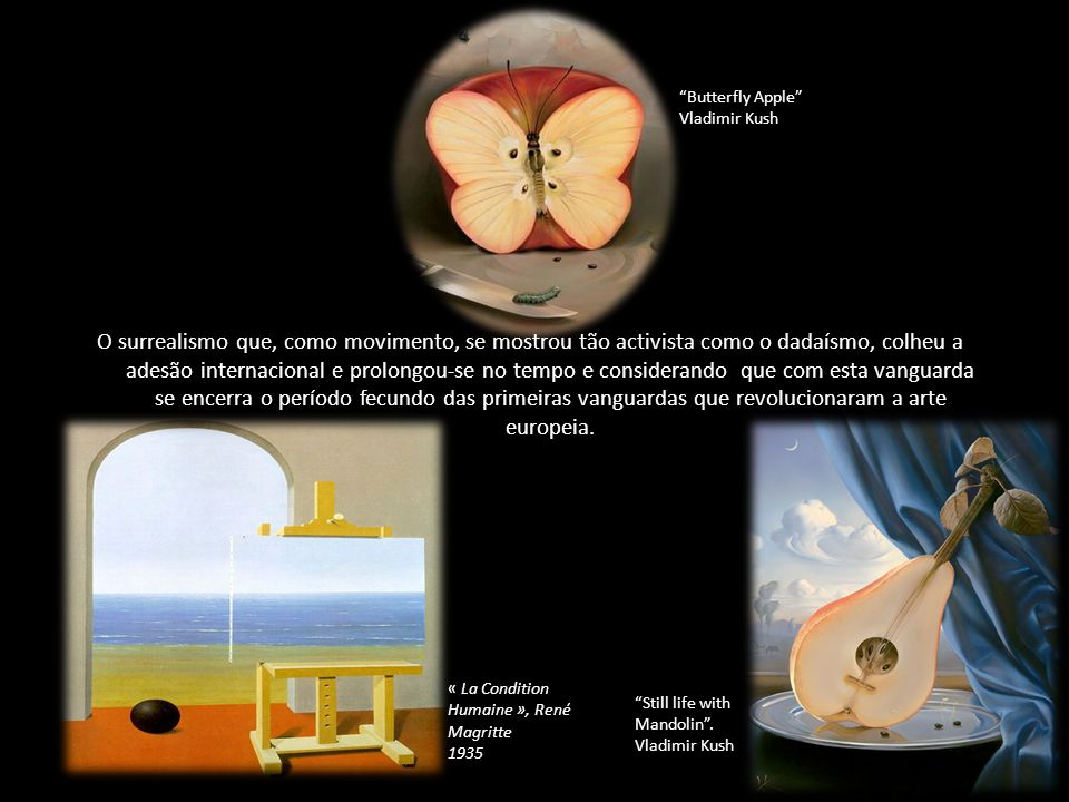 Butterfly Apple Vladimir Kush