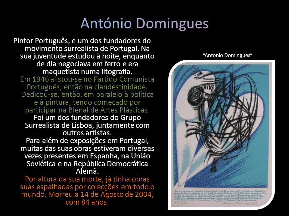 António Domingues