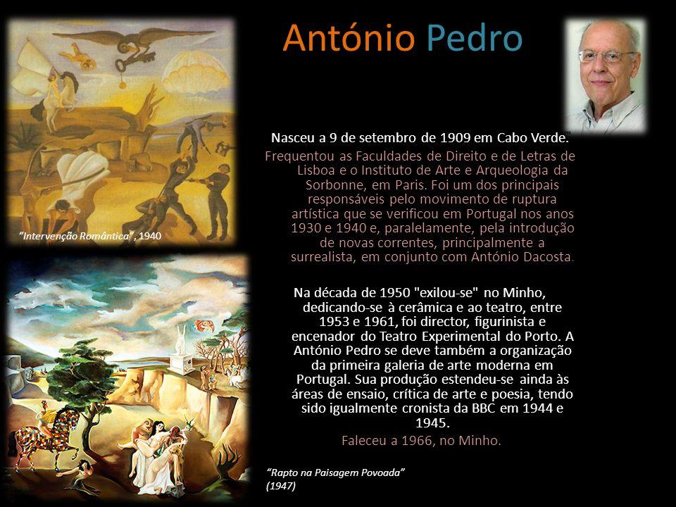 Nasceu a 9 de setembro de 1909 em Cabo Verde.