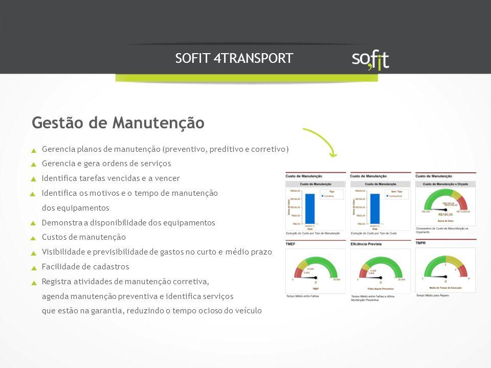 Gestão de Manutenção SOFIT 4TRANSPORT