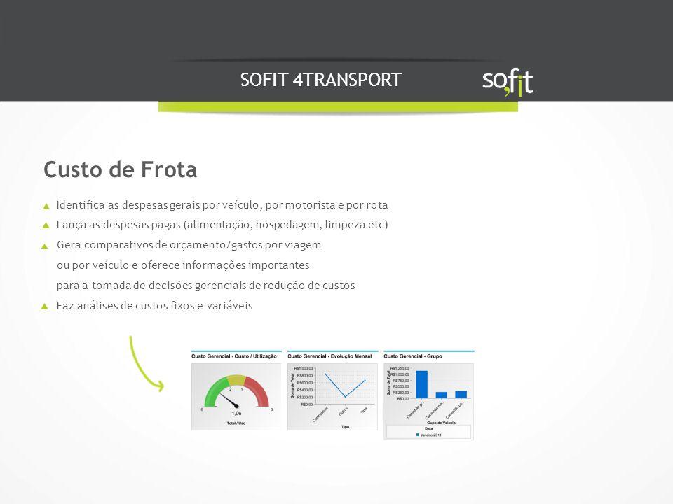 Custo de Frota SOFIT 4TRANSPORT