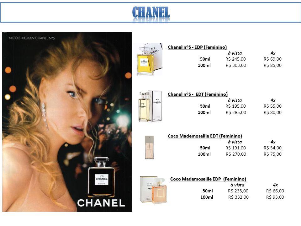 Chanel Chanel nº5 - EDP (Feminino) à vista 4x 50ml R$ 245,00 R$ 69,00