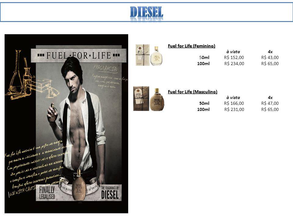 Diesel Fuel for Life (Feminino) à vista 4x 50ml R$ 152,00 R$ 43,00