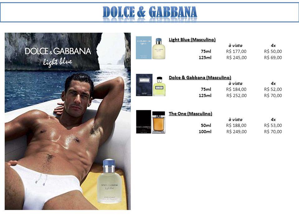 Dolce & gabbana Light Blue (Masculino) à vista 4x