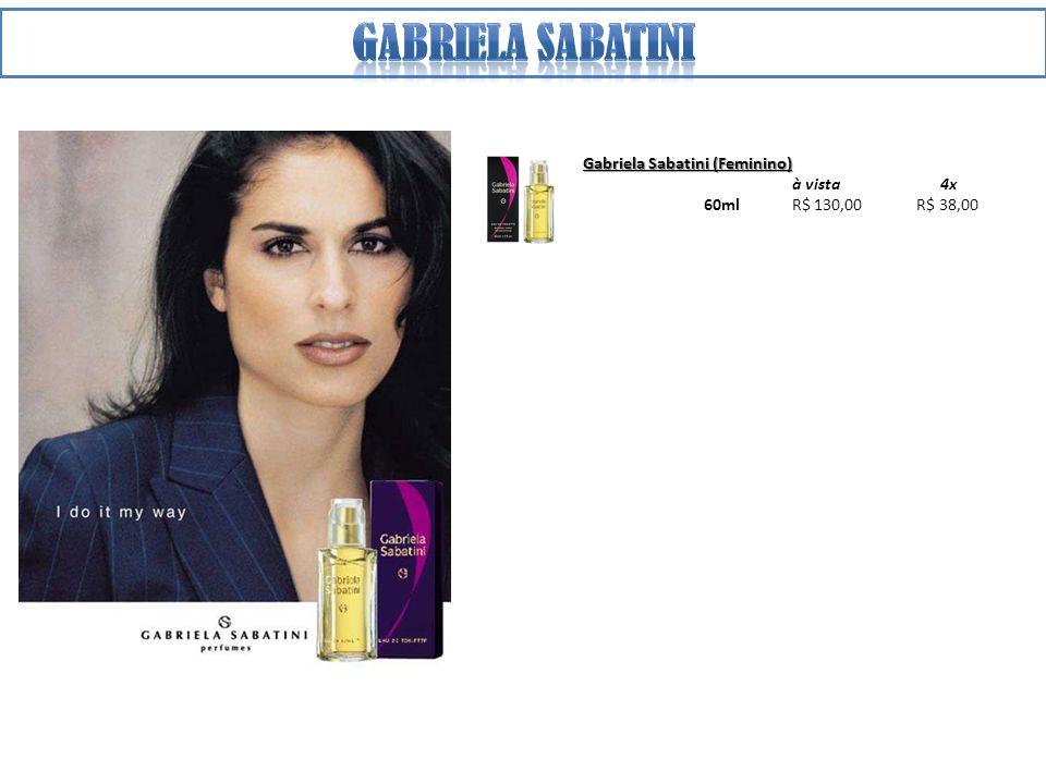 Gabriela sabatini Gabriela Sabatini (Feminino) à vista 4x