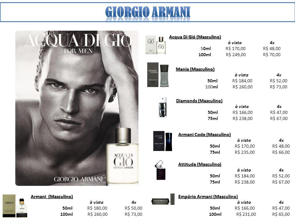 Giorgio armani Acqua Di Gió (Masculino) à vista 4x