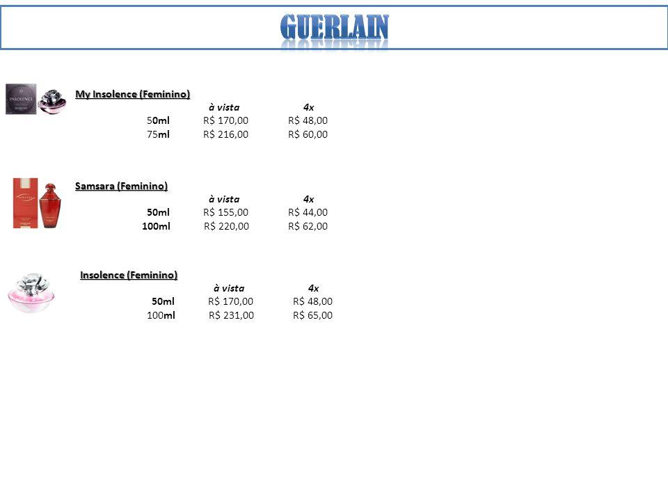 Guerlain My Insolence (Feminino) à vista 4x 50ml R$ 170,00 R$ 48,00