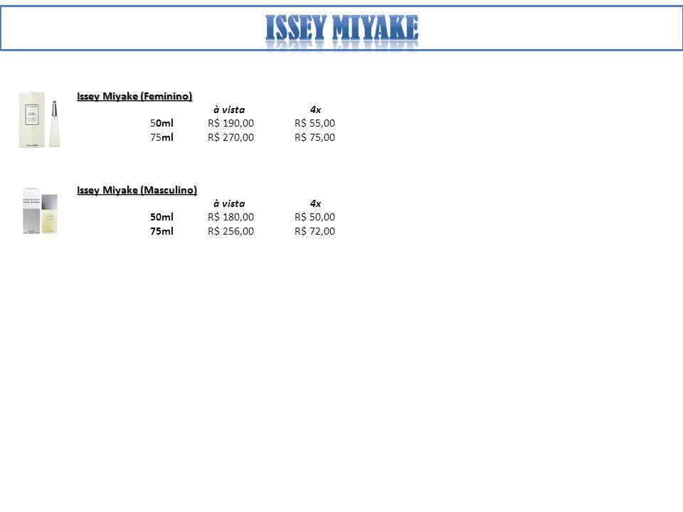 Issey miyake Issey Miyake (Feminino) à vista 4x