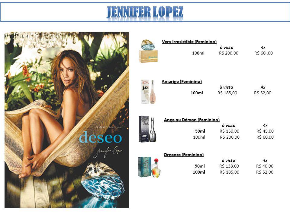 Jennifer lopez Very Irresistible (Feminino) à vista 4x