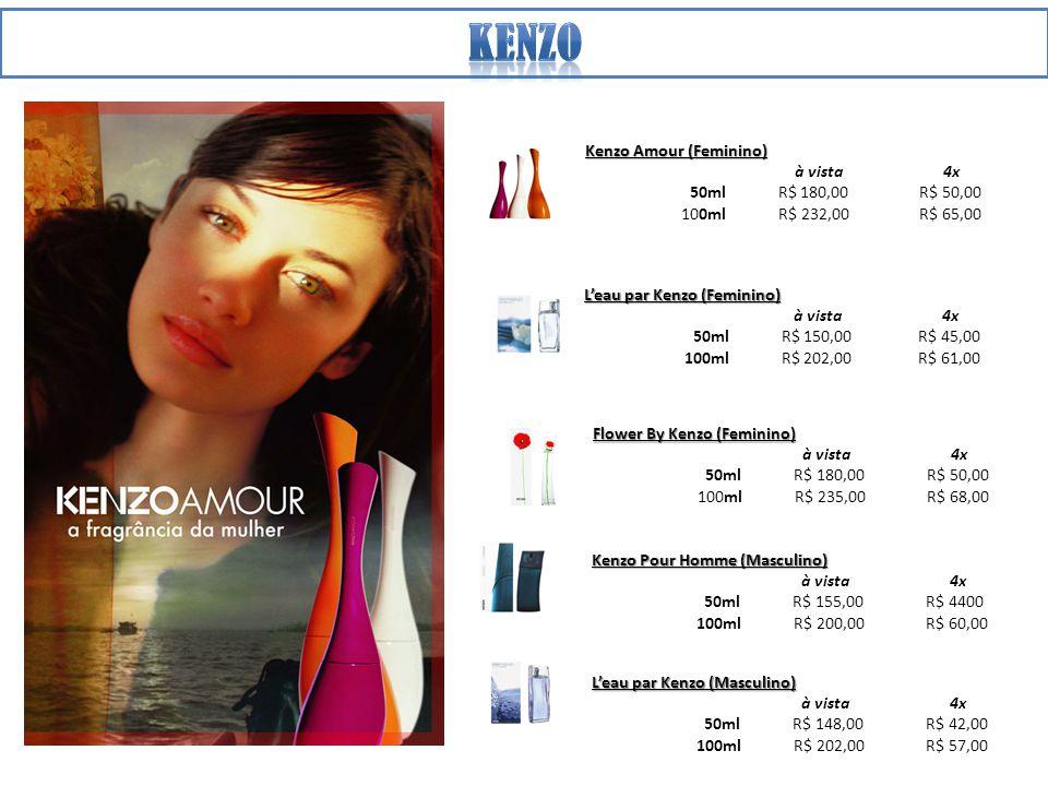 kenzo Kenzo Amour (Feminino) à vista 4x 50ml R$ 180,00 R$ 50,00