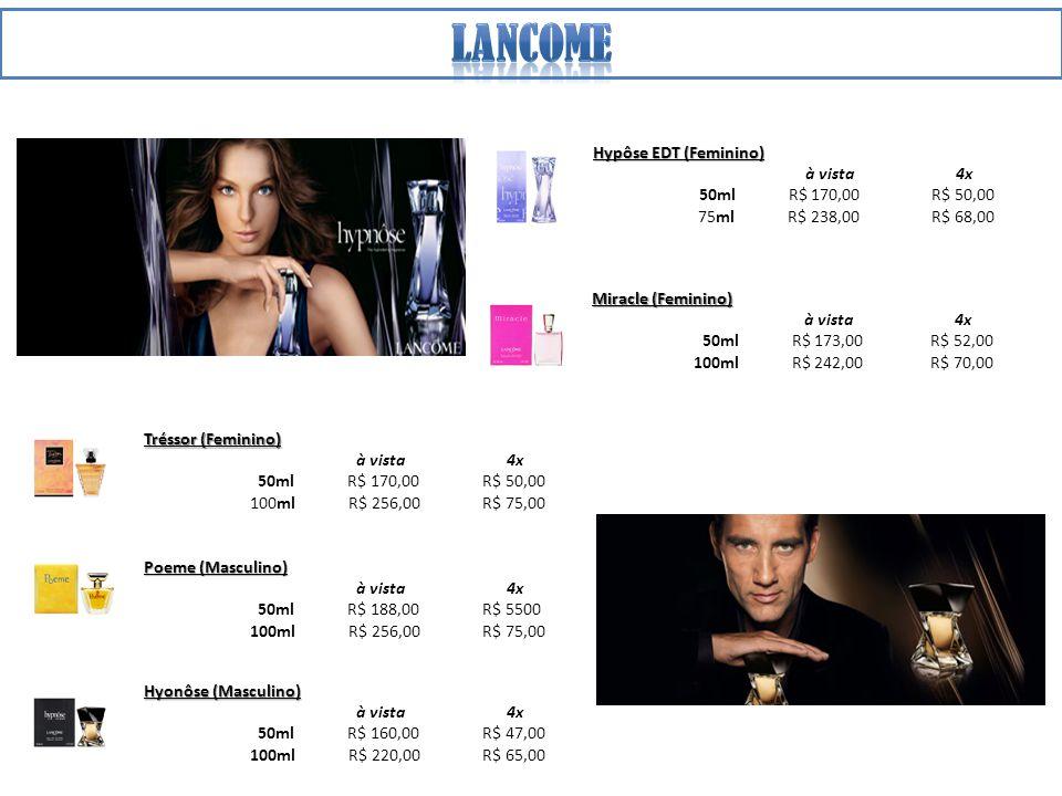 lancome Hypôse EDT (Feminino) à vista 4x 50ml R$ 170,00 R$ 50,00