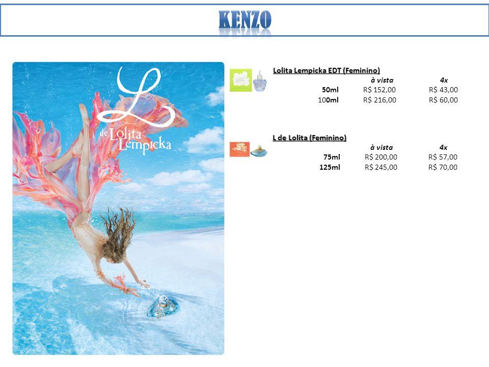 kenzo Lolita Lempicka EDT (Feminino) à vista 4x