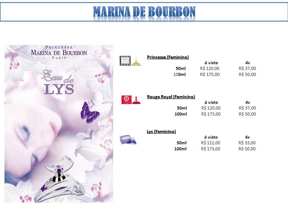 Marina de bourbon Princesse (Feminino) à vista 4x