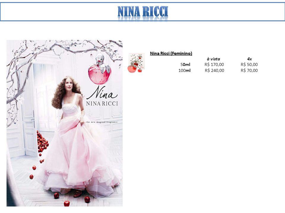Nina ricci Nina Ricci (Feminino) à vista 4x 50ml R$ 170,00 R$ 50,00
