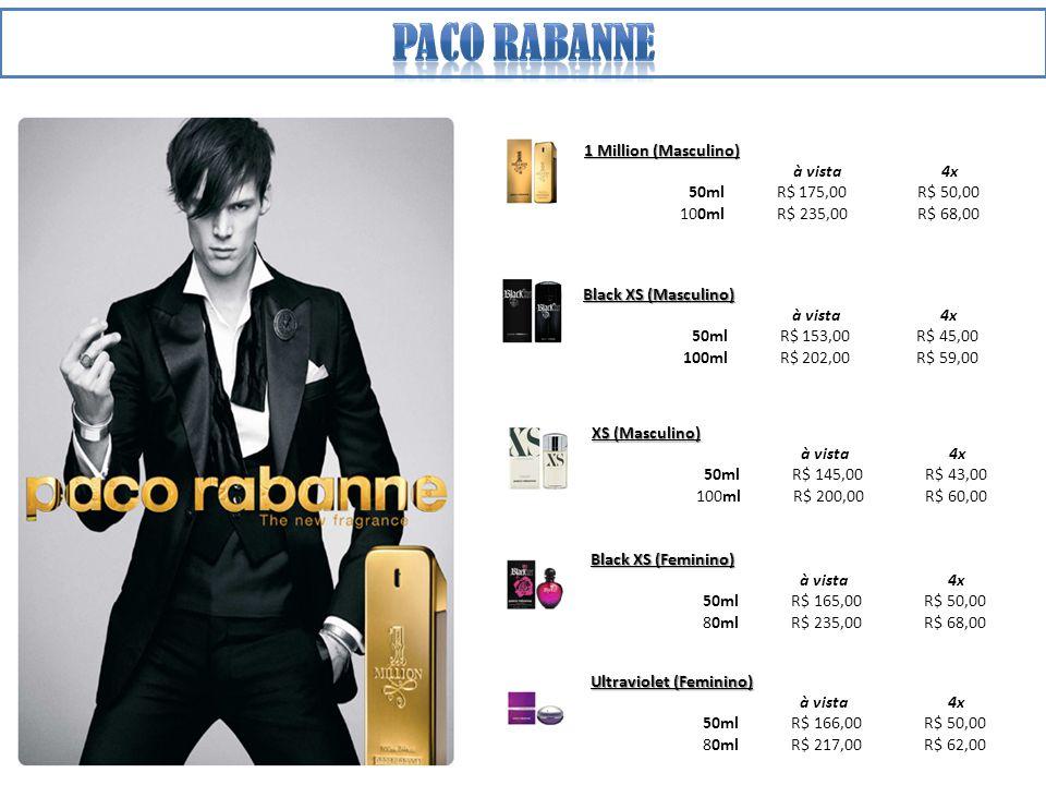 Paco rabanne 1 Million (Masculino) à vista 4x 50ml R$ 175,00 R$ 50,00
