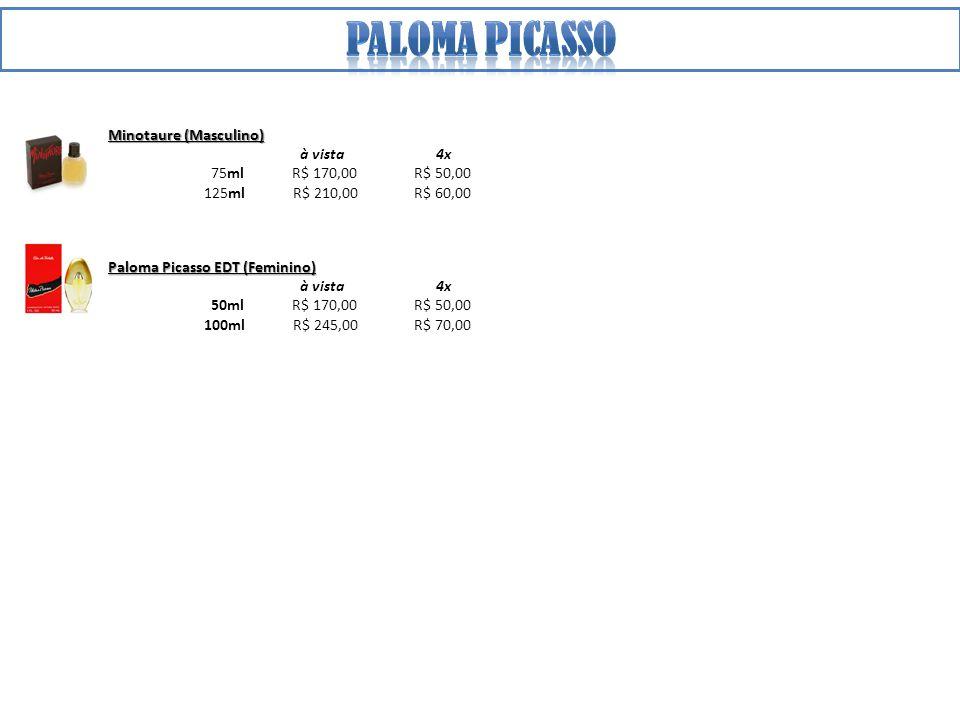 Paloma Picasso Minotaure (Masculino) à vista 4x