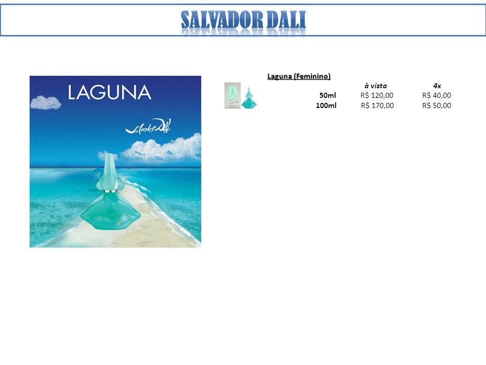 Salvador dali Laguna (Feminino) à vista 4x 50ml R$ 120,00 R$ 40,00