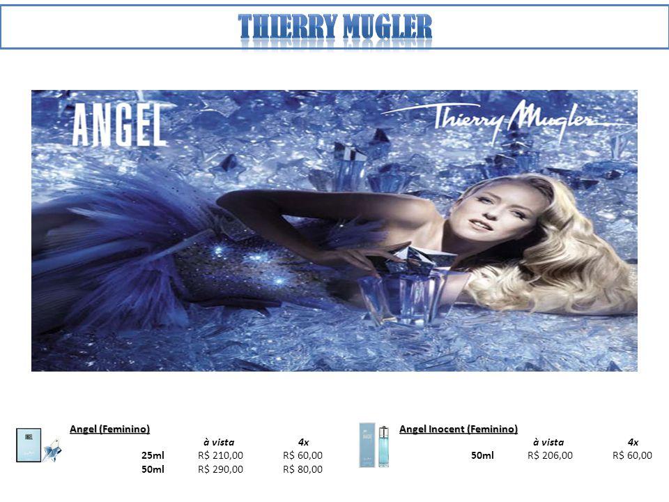 Thierry mugler Angel (Feminino) à vista 4x 25ml R$ 210,00 R$ 60,00