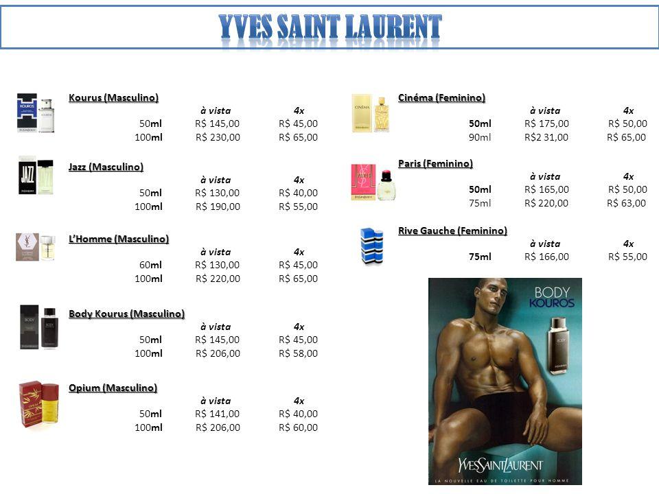 Yves saint laurent Kourus (Masculino) à vista 4x