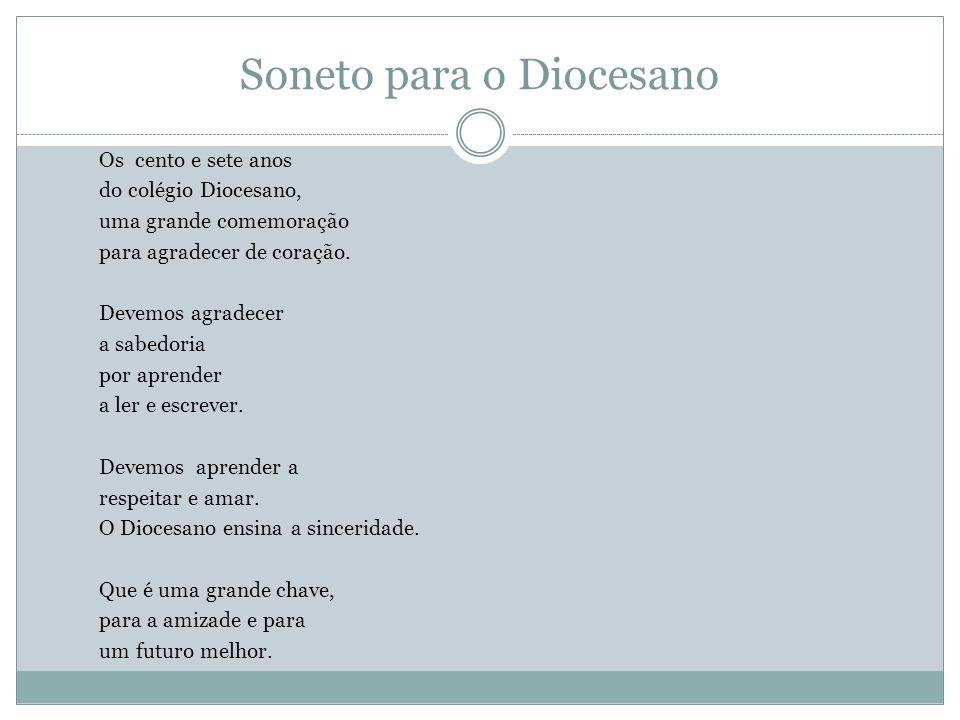 Soneto para o Diocesano
