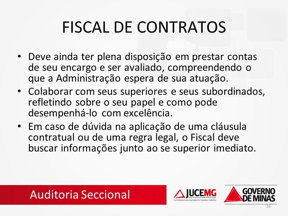 FISCAL DE CONTRATOS Auditoria Seccional