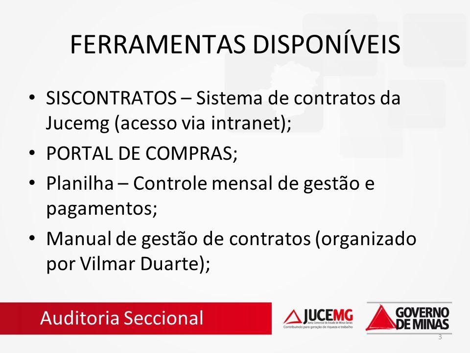 FERRAMENTAS DISPONÍVEIS