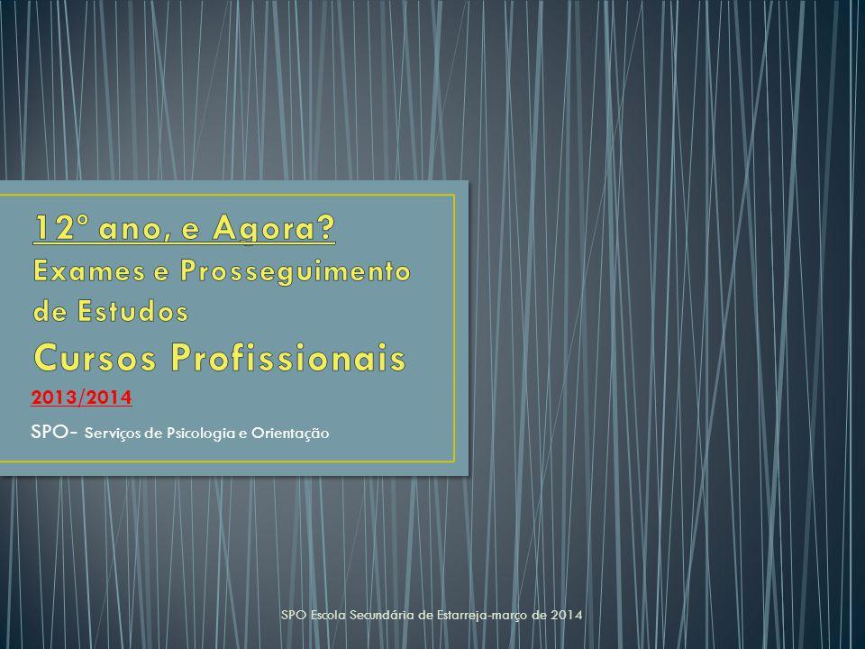 2013/2014 SPO- Serviços de Psicologia e Orientação