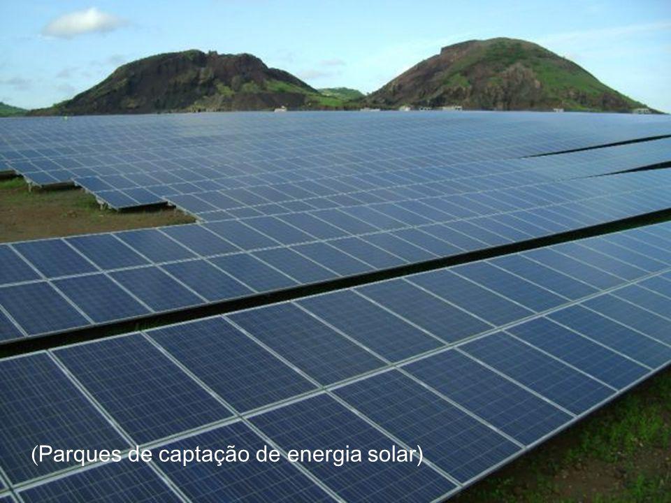(Parques de captação de energia solar)