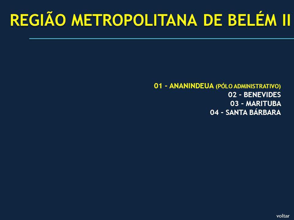 REGIÃO METROPOLITANA DE BELÉM II