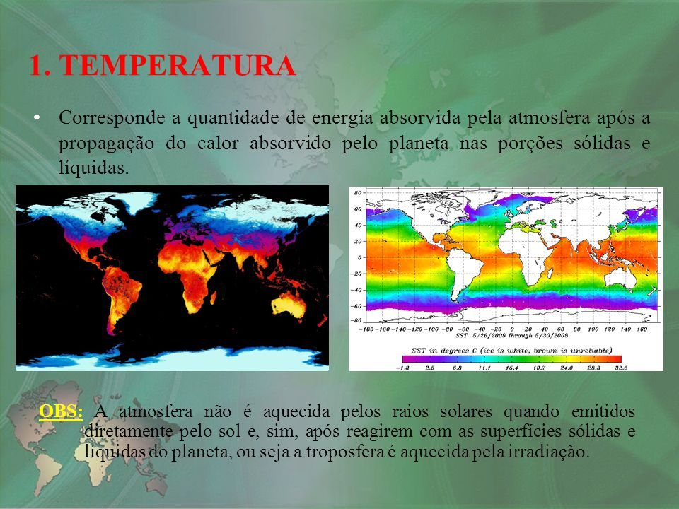 1. TEMPERATURA