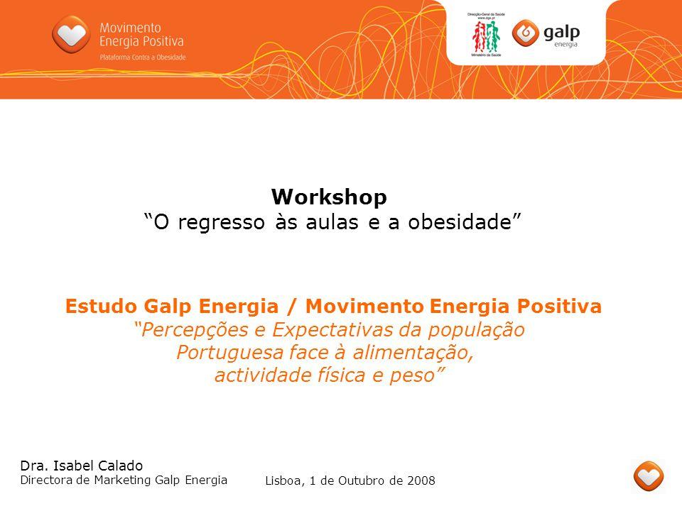 Estudo Galp Energia / Movimento Energia Positiva