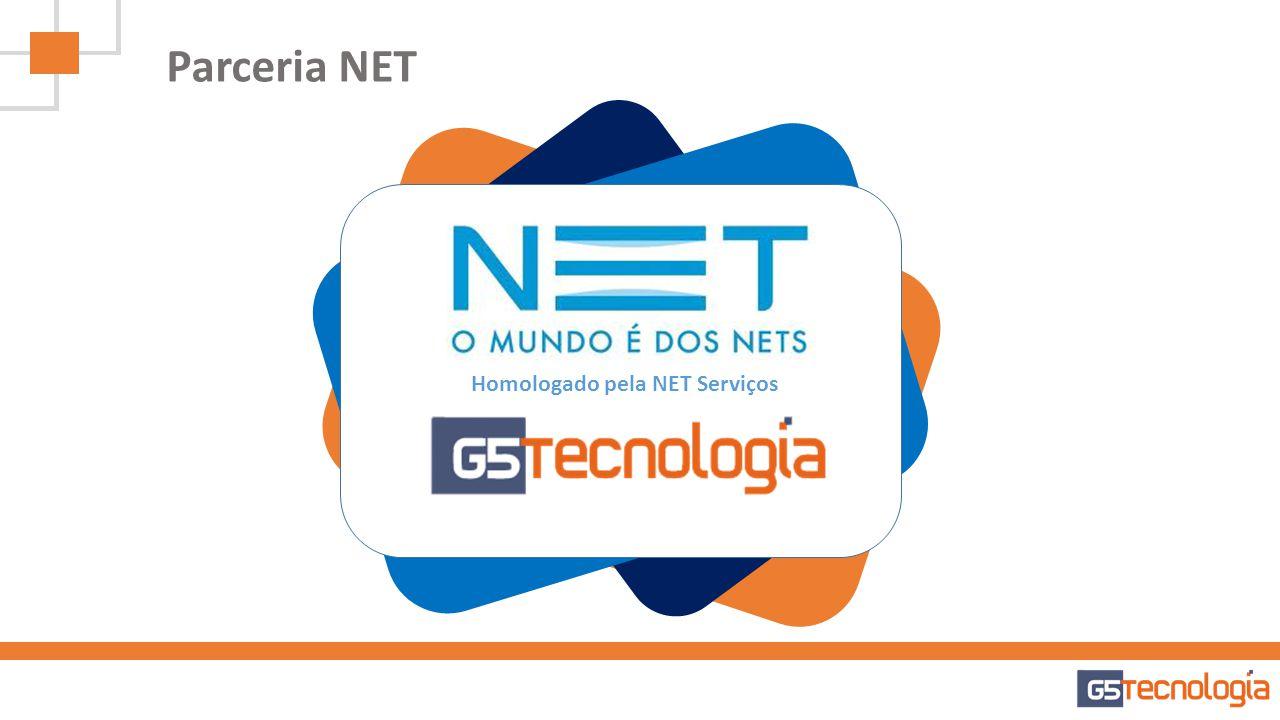 Parceria NET Homologado pela NET Serviços