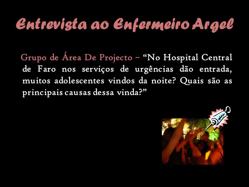 Entrevista ao Enfermeiro Argel