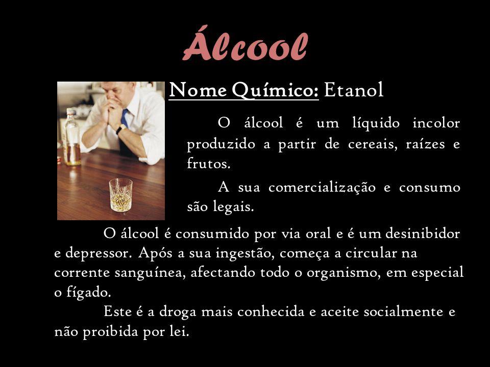 Álcool Nome Químico: Etanol