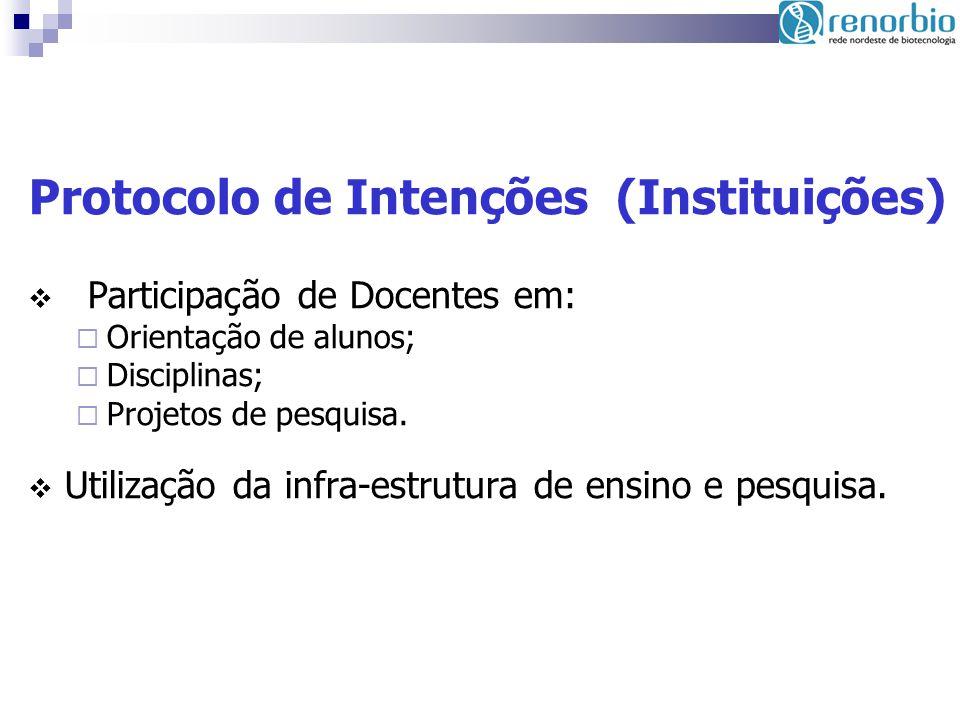 Protocolo de Intenções (Instituições)