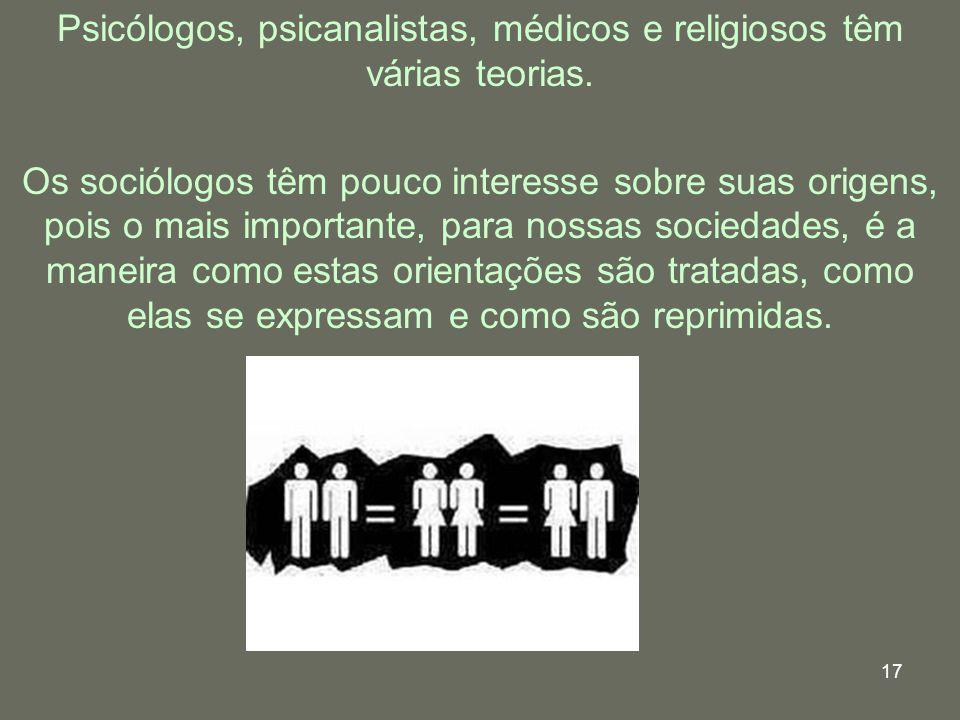 Psicólogos, psicanalistas, médicos e religiosos têm várias teorias.