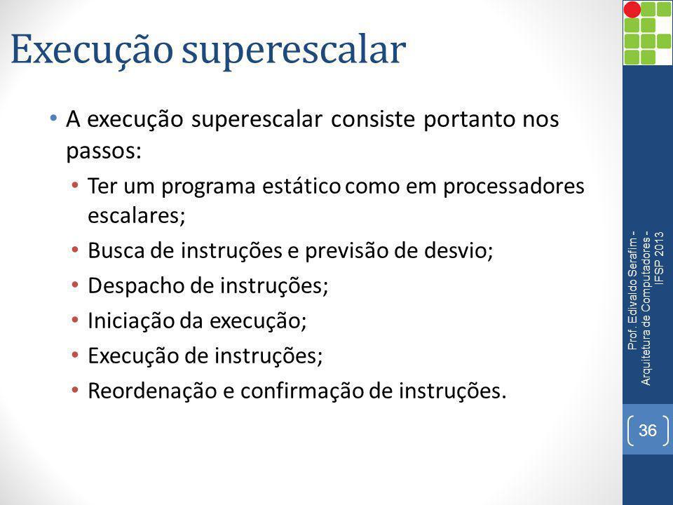 Execução superescalar