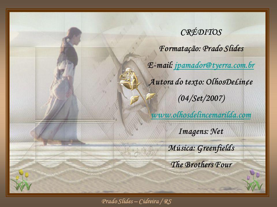 Formatação: Prado Slides E-mail: jpamador@tyerra.com.br