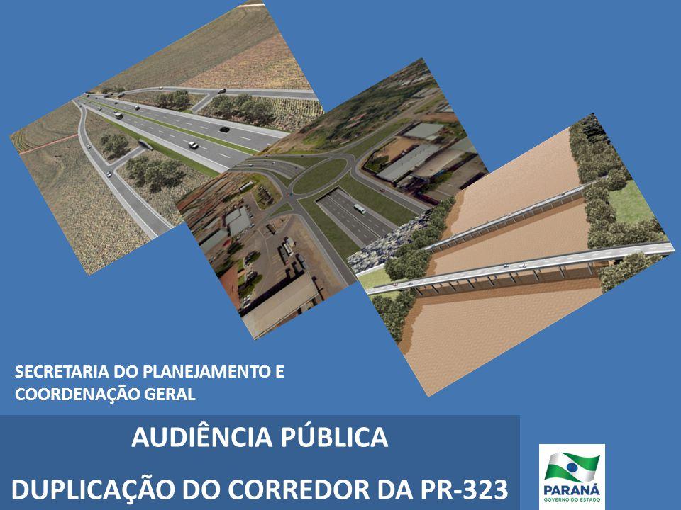 DUPLICAÇÃO DO CORREDOR DA PR-323