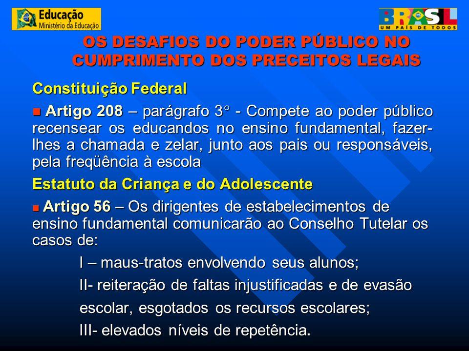 OS DESAFIOS DO PODER PÚBLICO NO CUMPRIMENTO DOS PRECEITOS LEGAIS