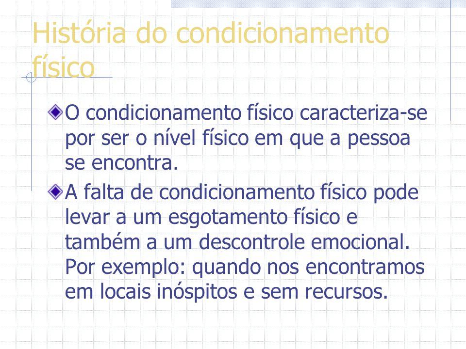 História do condicionamento físico