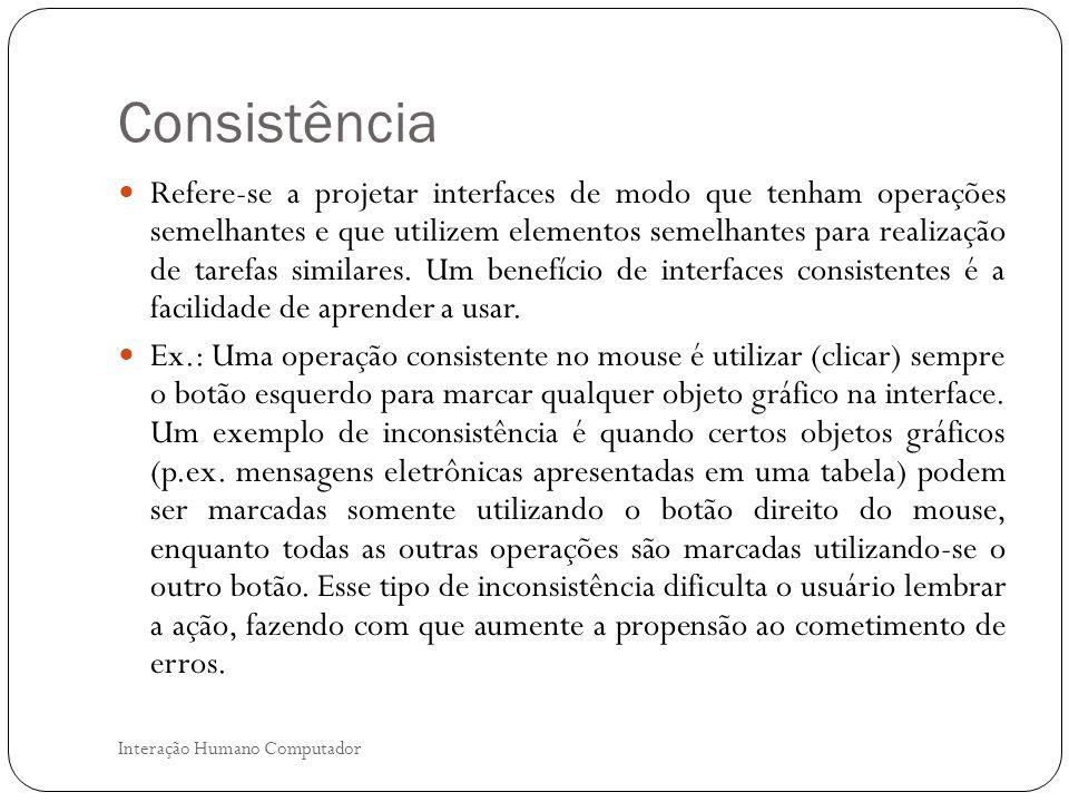 Consistência