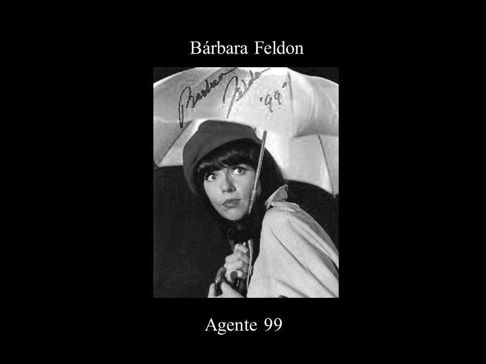 Bárbara Feldon Agente 99