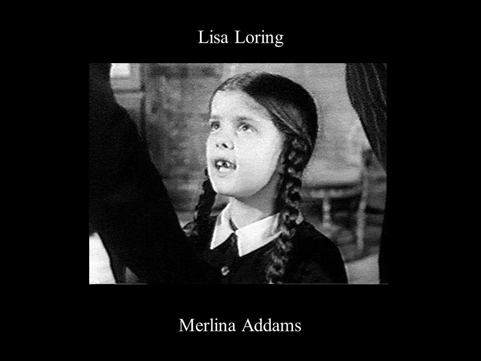 Lisa Loring Merlina Addams