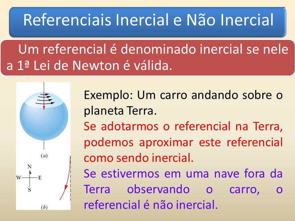 Referenciais Inercial e Não Inercial
