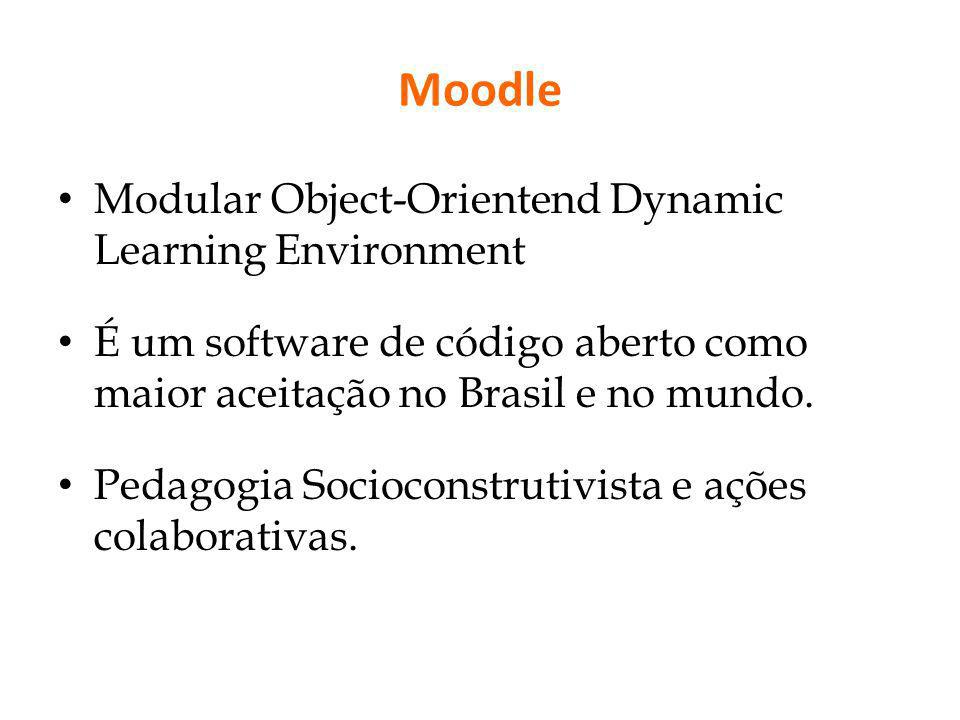 Moodle Modular Object-Orientend Dynamic Learning Environment