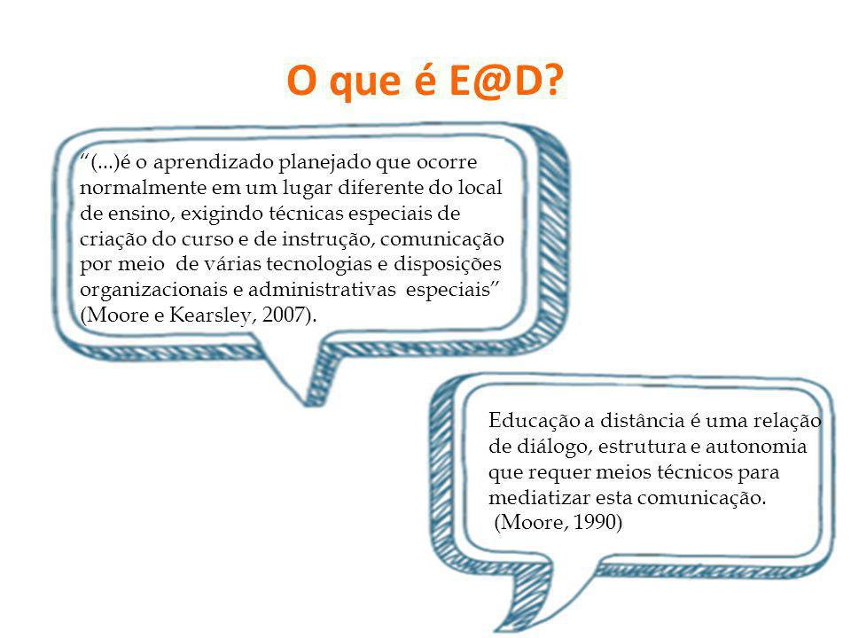 O que é E@D